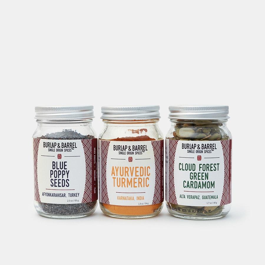 Burlap & Barrel Mix & Match Spice Sets (3-Pack)
