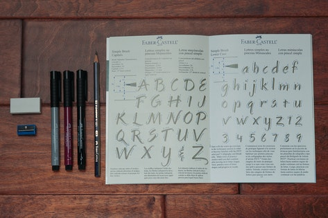sheaffer calligraphy instruction booklet