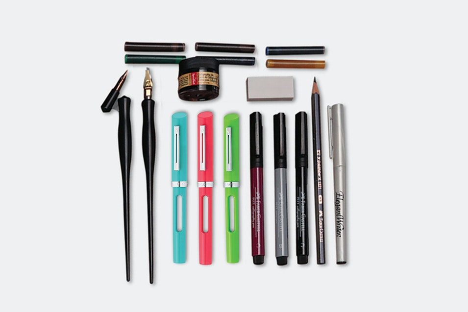 Calligraphy super starter set price & reviews massdrop