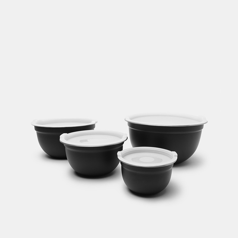 Cambridge Silversmith Mixing Bowls (4-Pack w/ Lid)