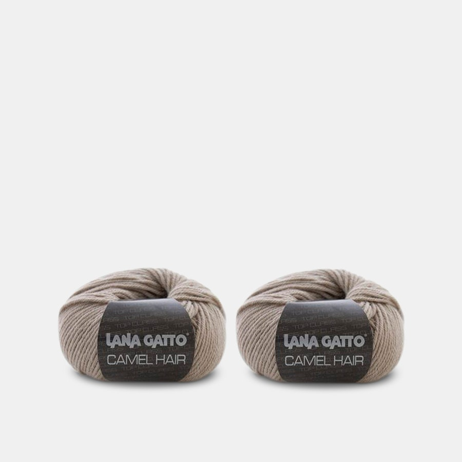 Camel Hair yarn by Lana Gatto