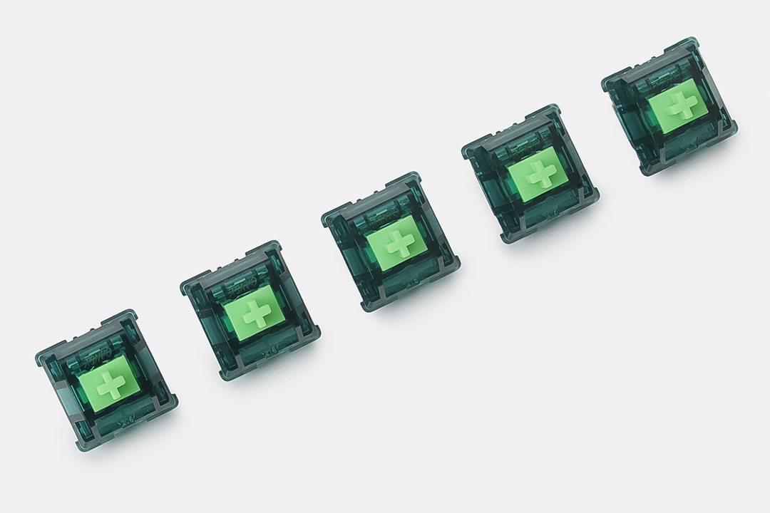 Candy Jade Green Mechanical Switches