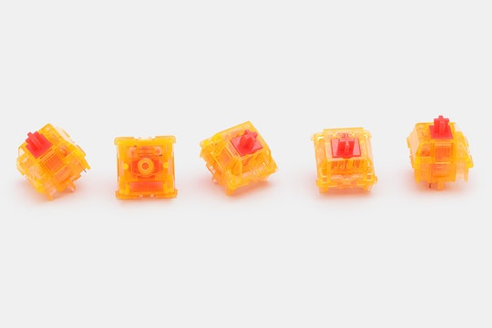 Candy Keyboard Blinding Lights Tactile Switches