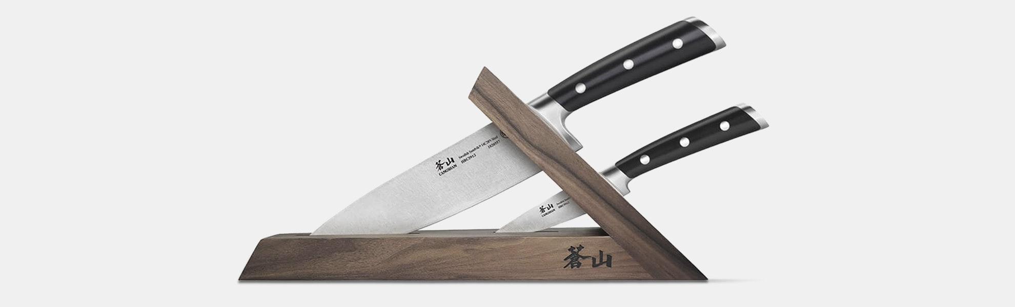 Cangshan TS Series 3-Piece Knife Block Set