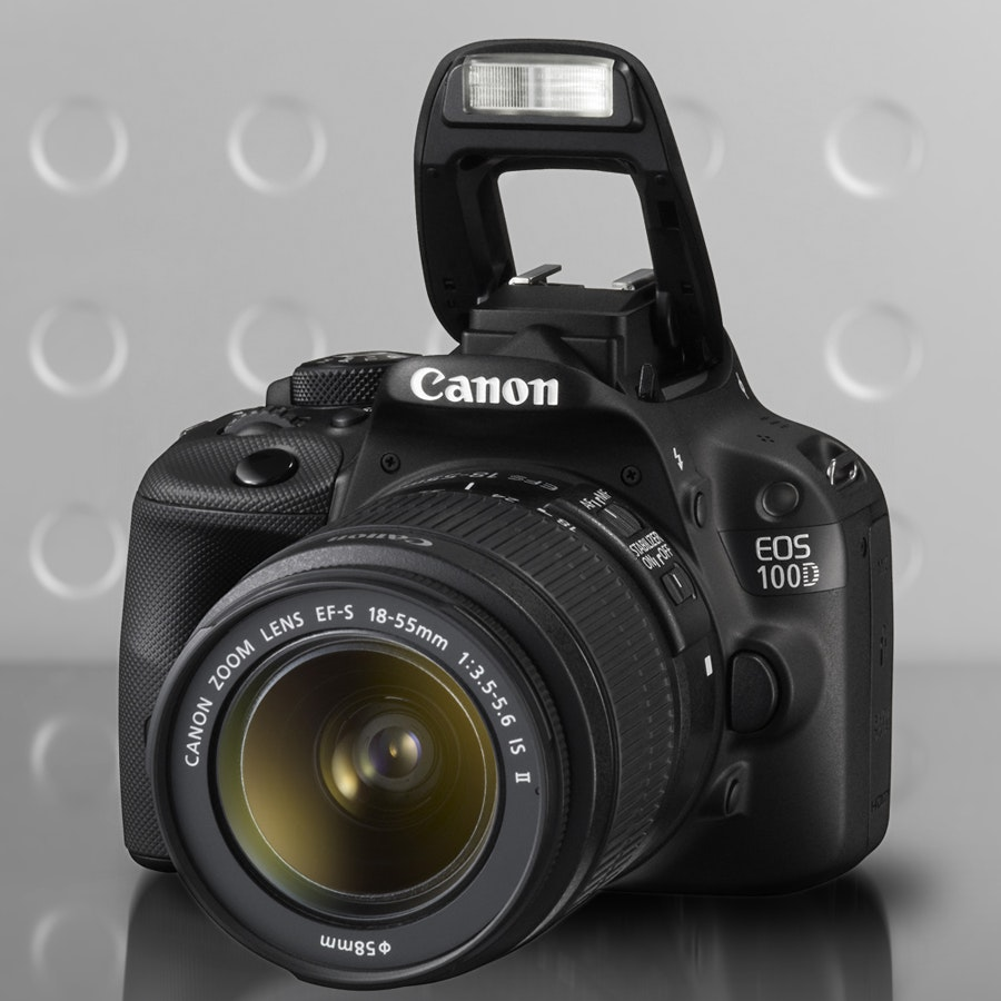 Canon 100D with 18-55mm Lens