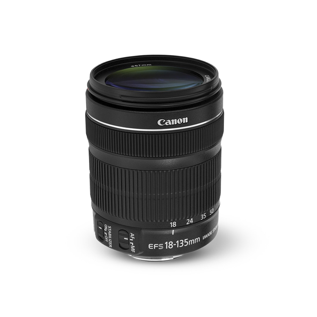 Canon EF-S 18–135mm f/3.5–5.6 IS STM (White Box)