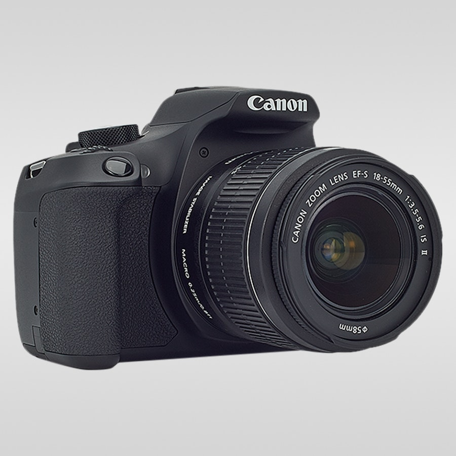 Canon EOS 1300D w/ 18-55 F3 5-5 6 III Lens   Price & Reviews