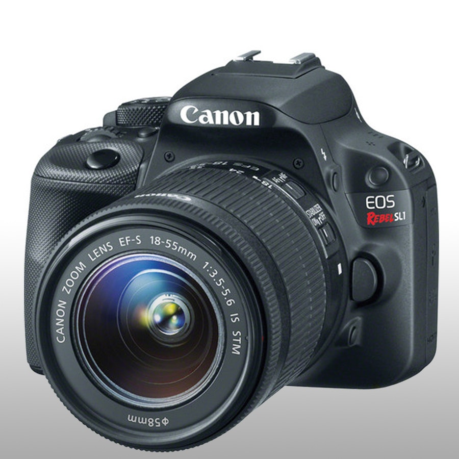 Canon EOS Rebel SL1 DSLR Camera Kit with 18-55mm STM