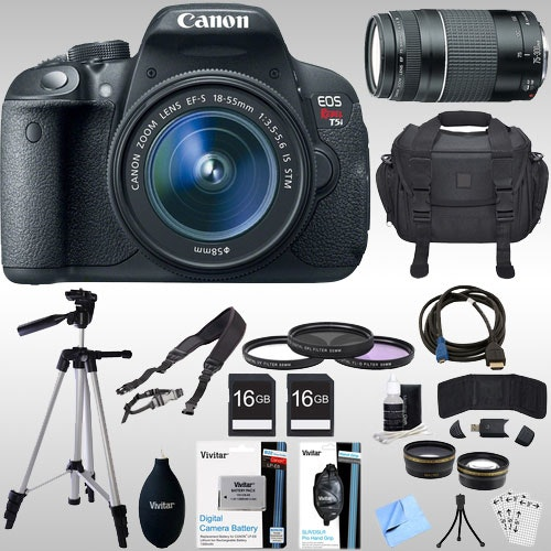 Canon EOS Rebel T5i Digital Camera Bundle