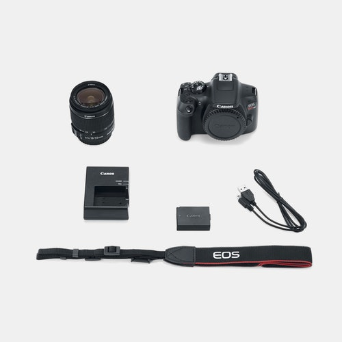 Canon EOS Rebel T6 EF-S 18–55mm IS II Kit | Price & Reviews