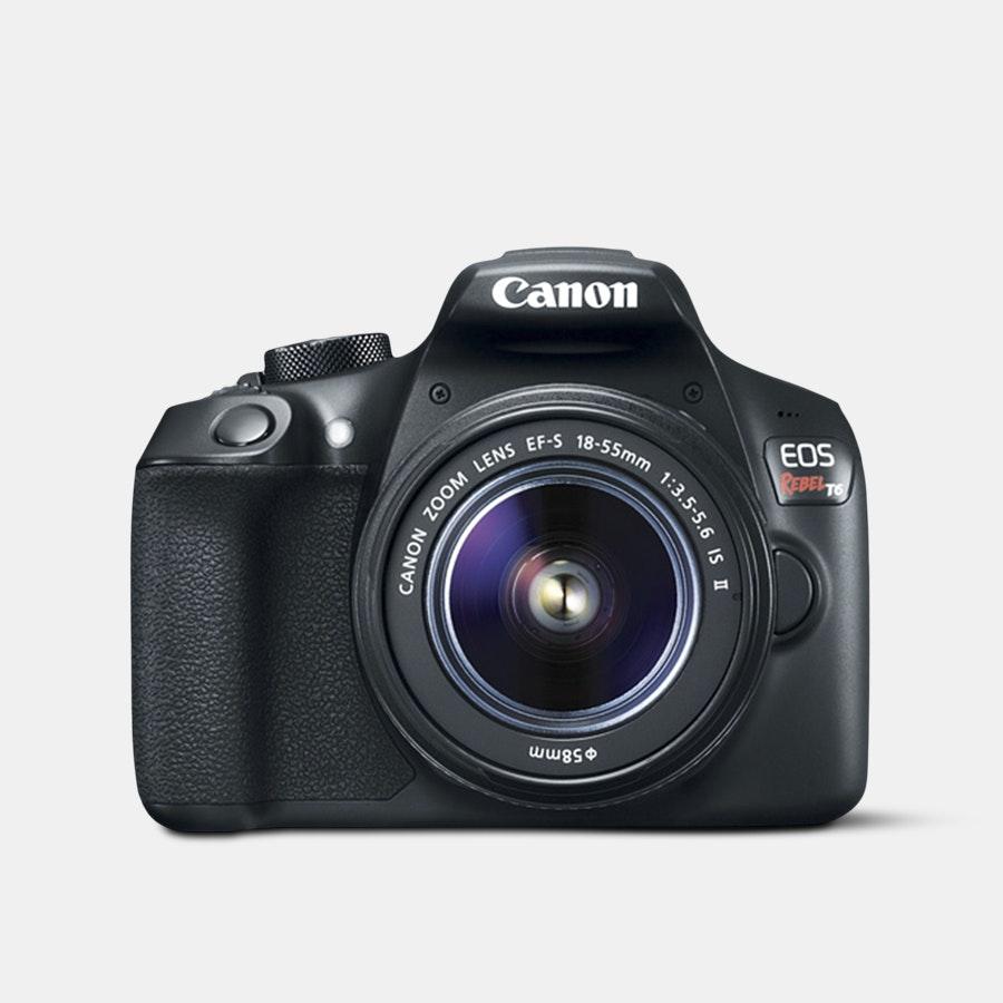 Canon EOS Rebel T6 EF-S 18–55mm IS II Kit