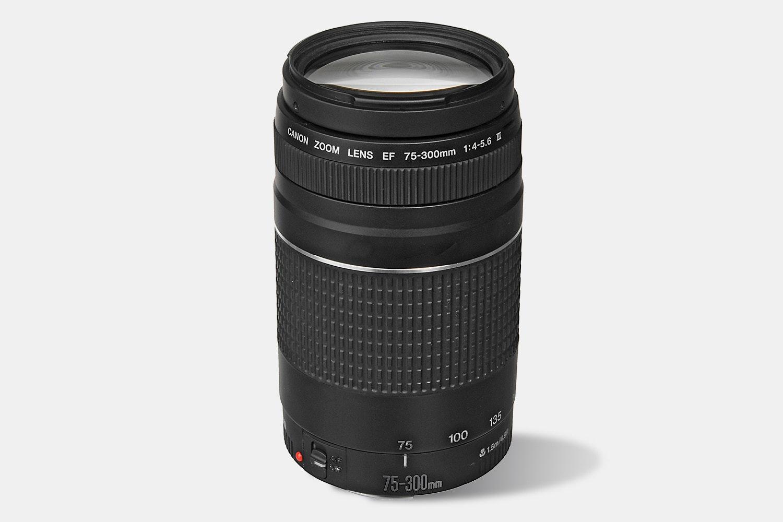 EF 75–300mm f/4–5.6 III lens