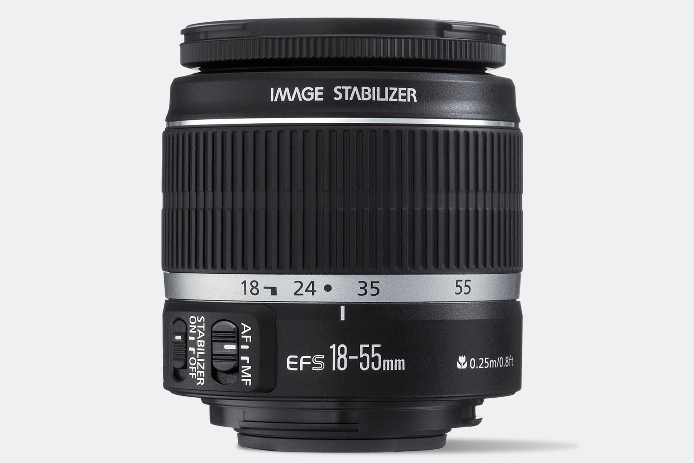 EF-S 18–55mm f/3.5–5.6 IS II lens