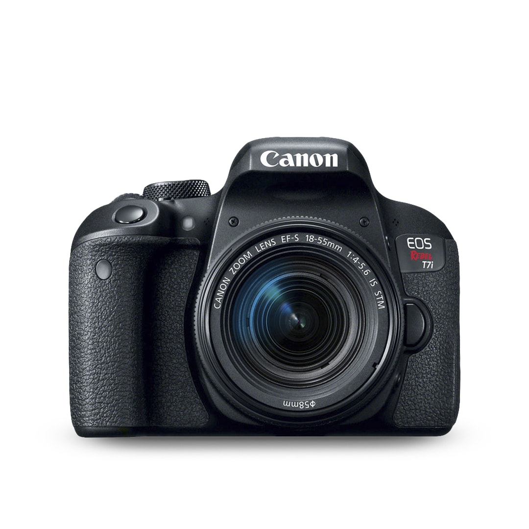 Canon EOS T7i DSLR Camera w/ 18–55mm Lens