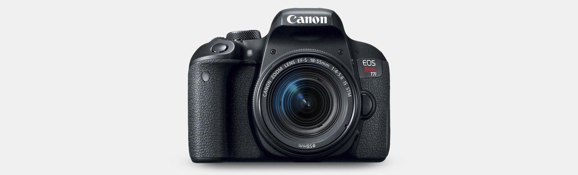 Canon EOS T7i DSLR Camera w/ 18–55mm Lens