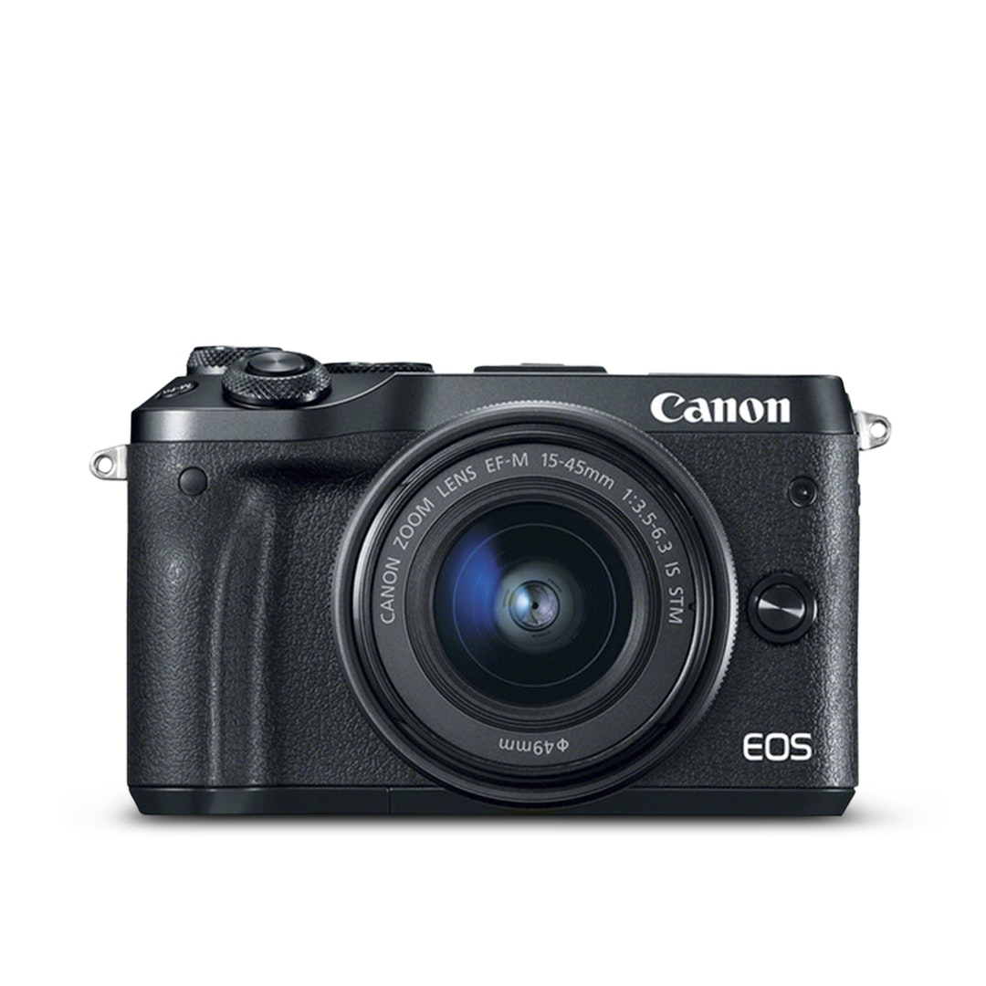 Canon M6 Mirrorless Digital Camera w/ 15–45mm Lens