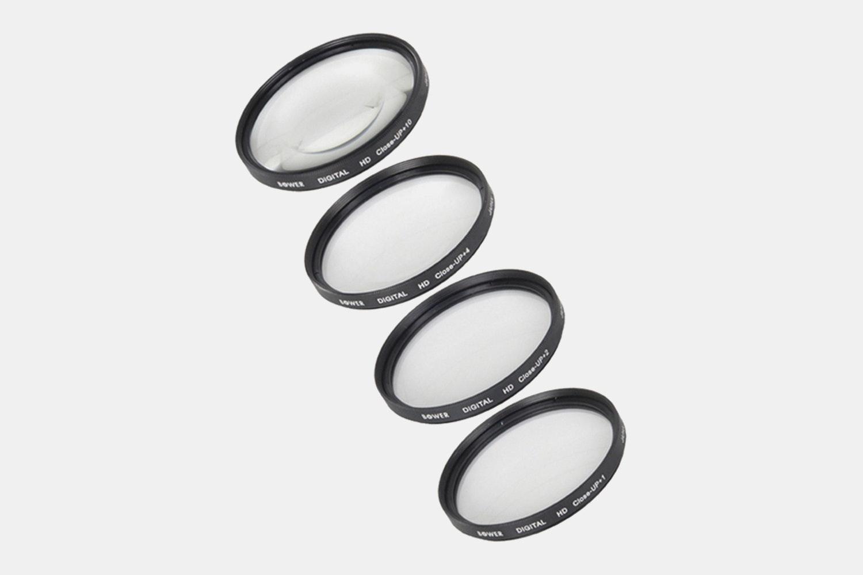 Bower 58mm 6-Piece Digital Macro Filter Kit