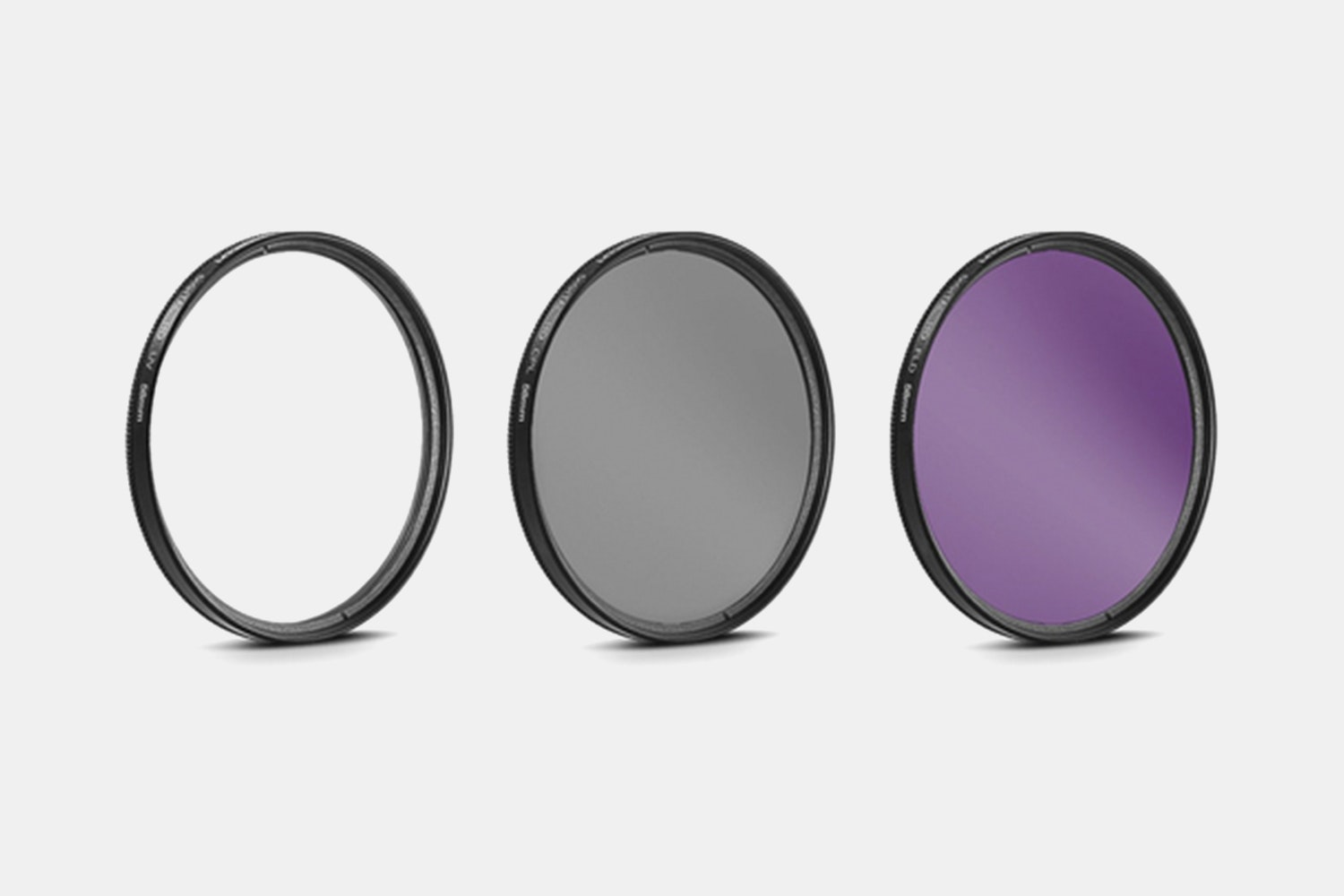 General Brand 58mm UV, CPL & ND8 Deluxe Filter Kit (Set of 3 + Carrying Case)