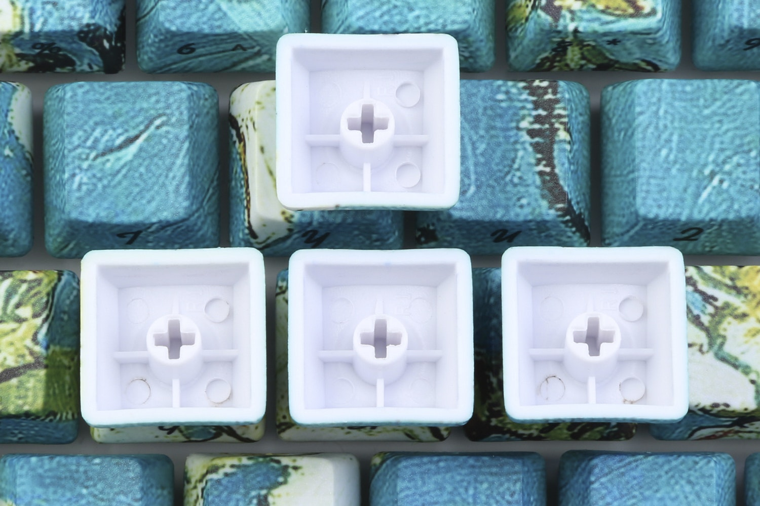 Canvas PBT All Over Dye-Subbed Keycaps Set