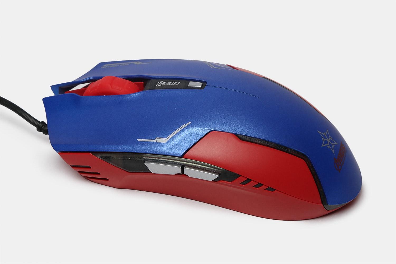 Captain America Keyboard/Mouse/Mousepad Bundle