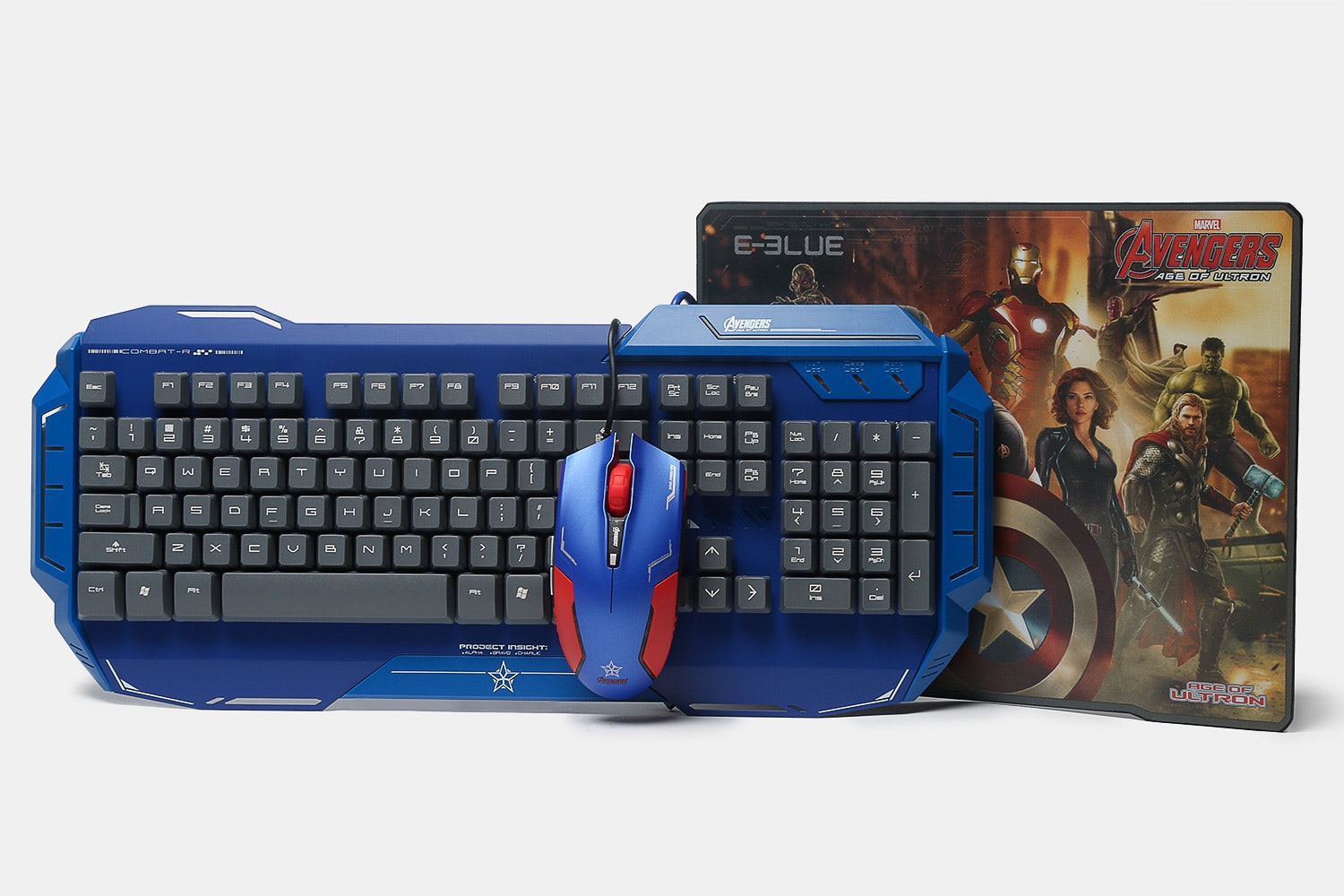 Captain America Keyboard/Mouse/Mousepad Bundle
