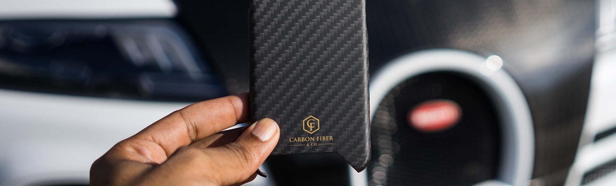 Carbon Fiber & Co. iPhone Cases