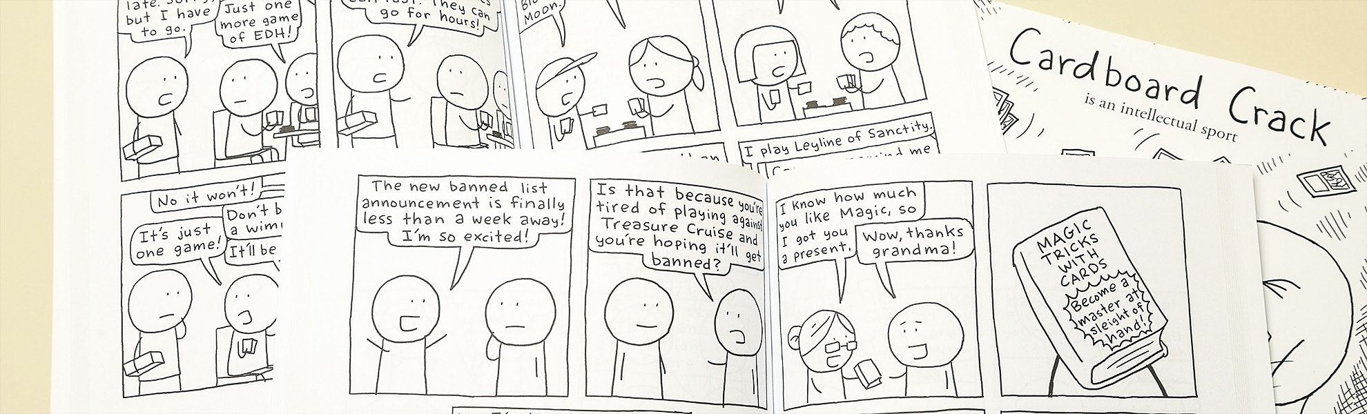 Cardboard Crack Complete Comic Collection