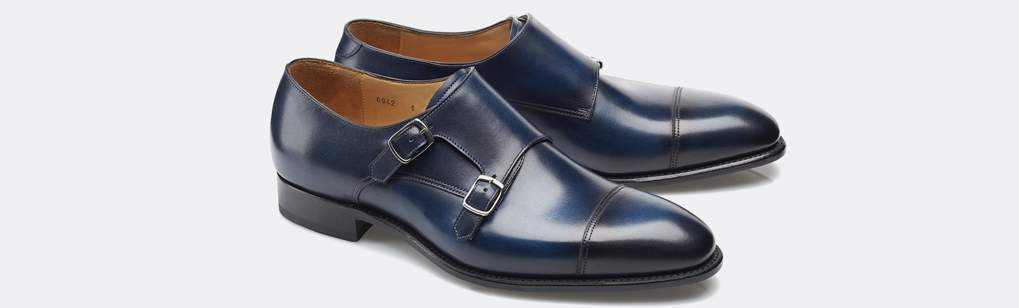 Carlos Santos Monkstrap Shoes