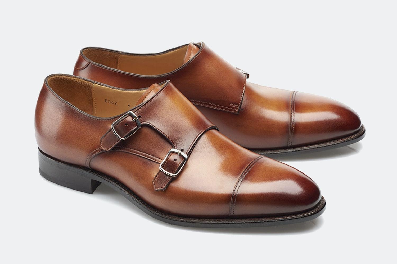 Carlos Santos Monkstrap Shoes