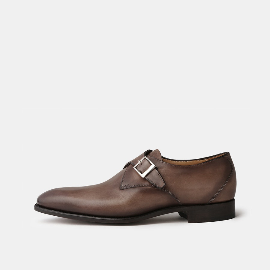 Carlos Santos Single-Buckle Shoes