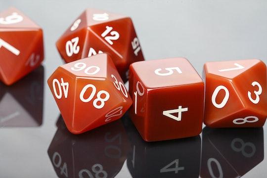 Carnelian Polyhedral Dice Set