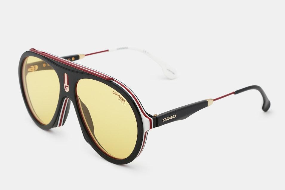 Carrera Special-Edition Flag Pilot Sunglasses | Price & Reviews ...