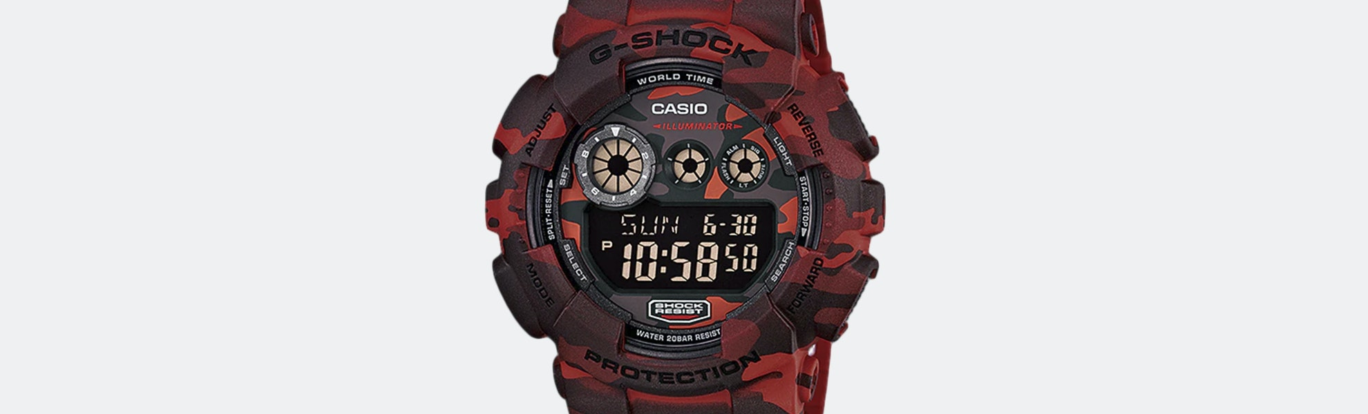 Casio G-Shock GD-120CM Quartz Watch