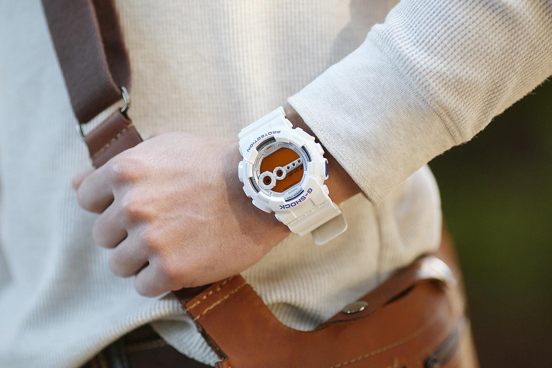 Casio G-Shock GD100SC-7 Watch