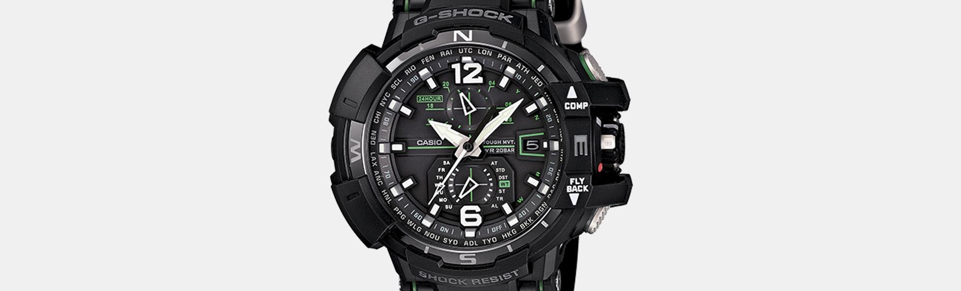 Casio G-Shock Gravity Defier Quartz Watch