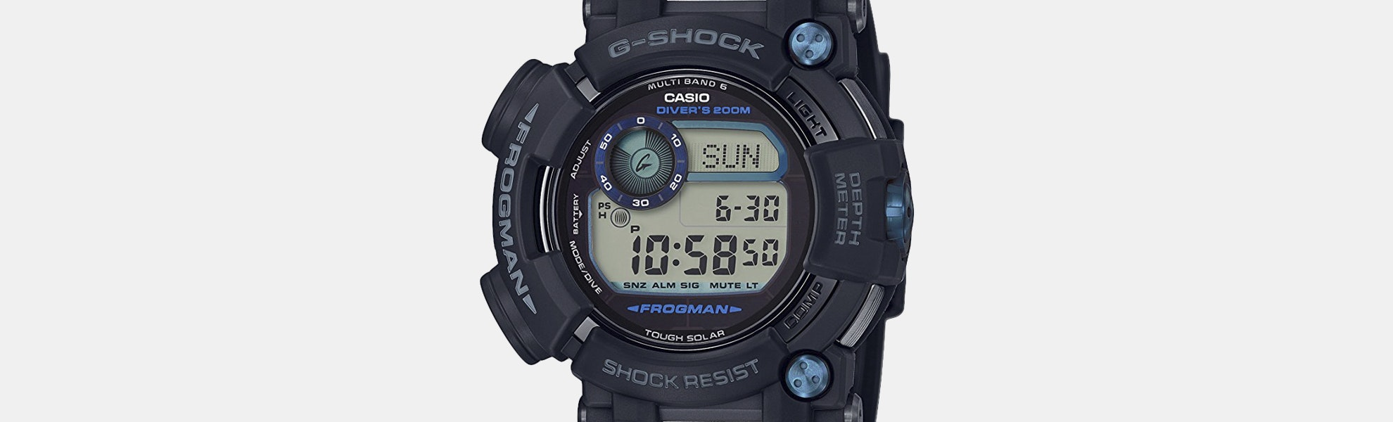 Casio G-Shock Master of G Frogman Solar Watch