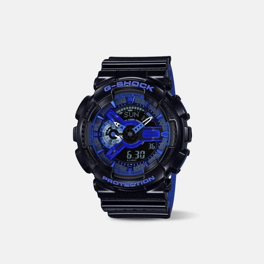 Casio G-Shock Punching Pattern GA-110 Quartz Watch