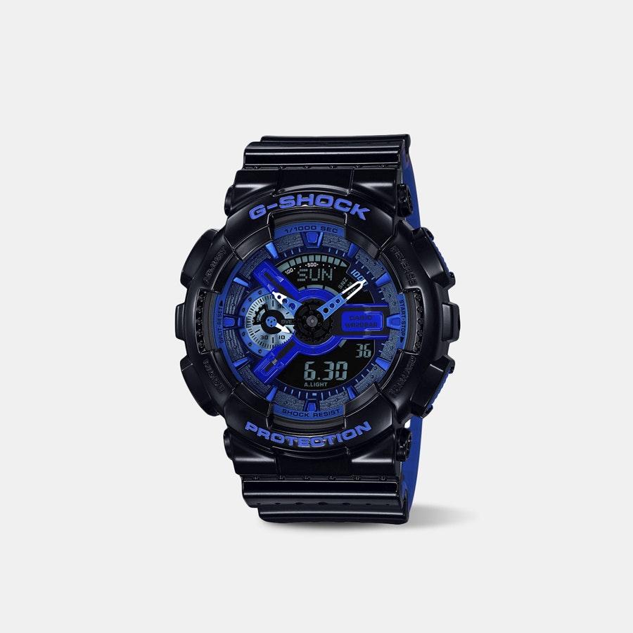 Casio G-Shock Punching Pattern GA-110 Quartz Watch
