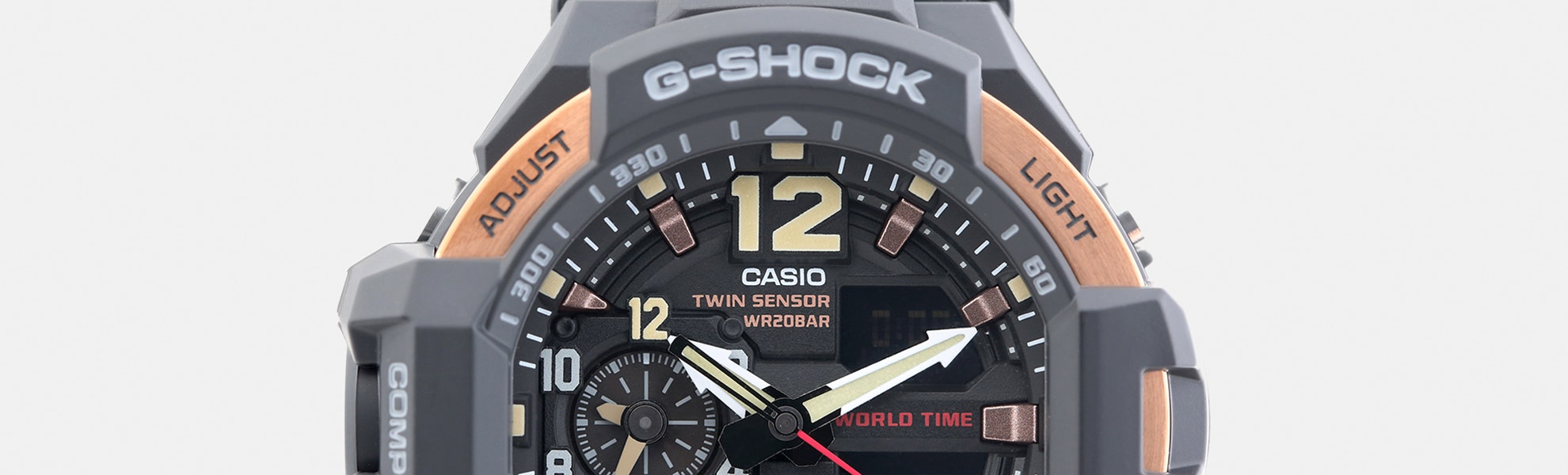 Casio G-Shock Rose Gold Master of G Gravitymaster