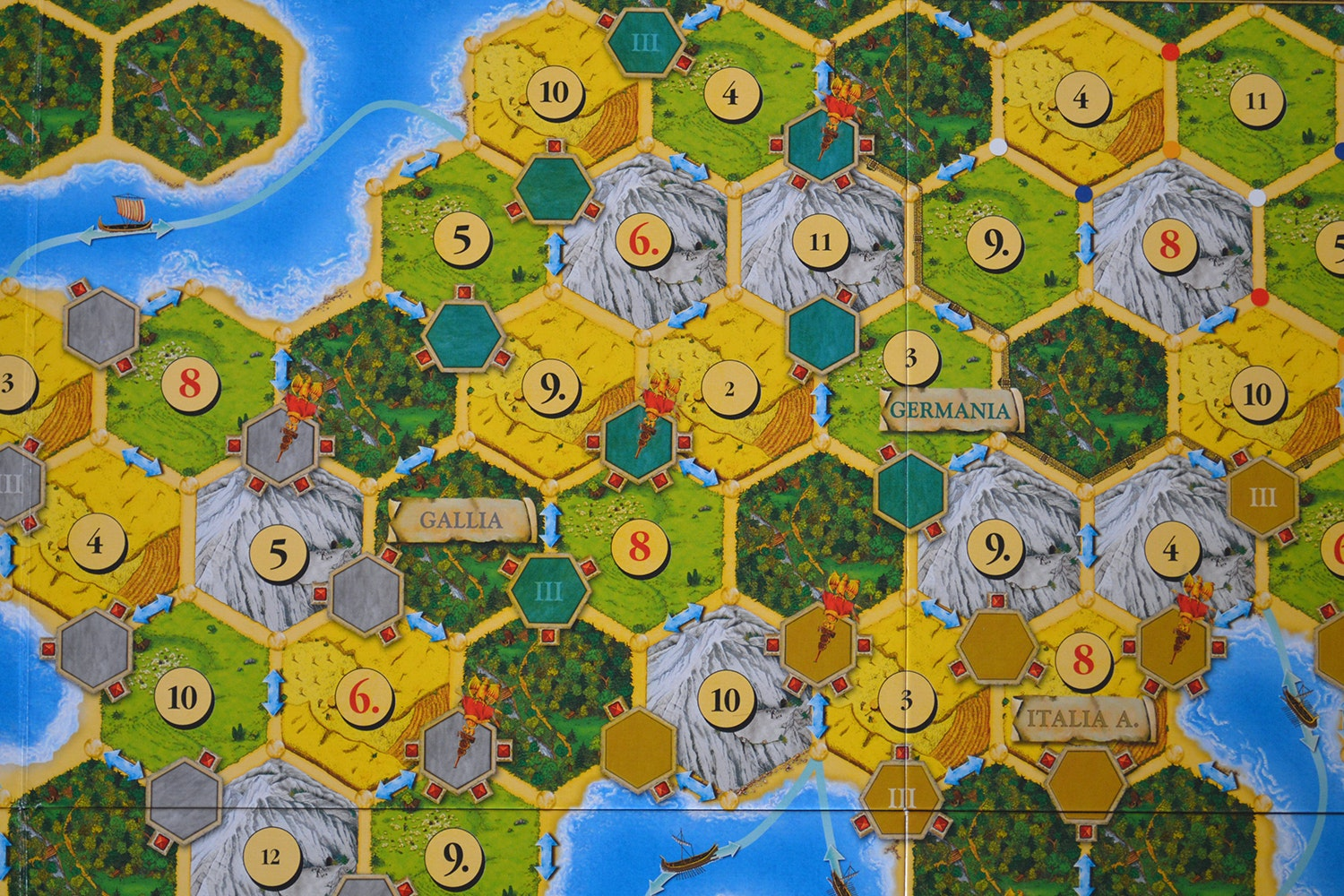 Catan Histories: Struggle for Rome