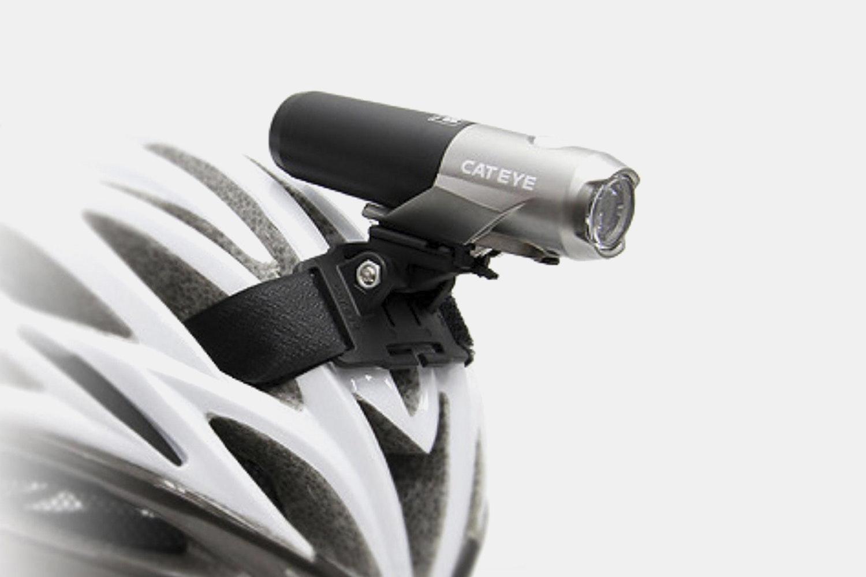 CatEye Volt 300 HL-EL460RC w/ Helmet Mount