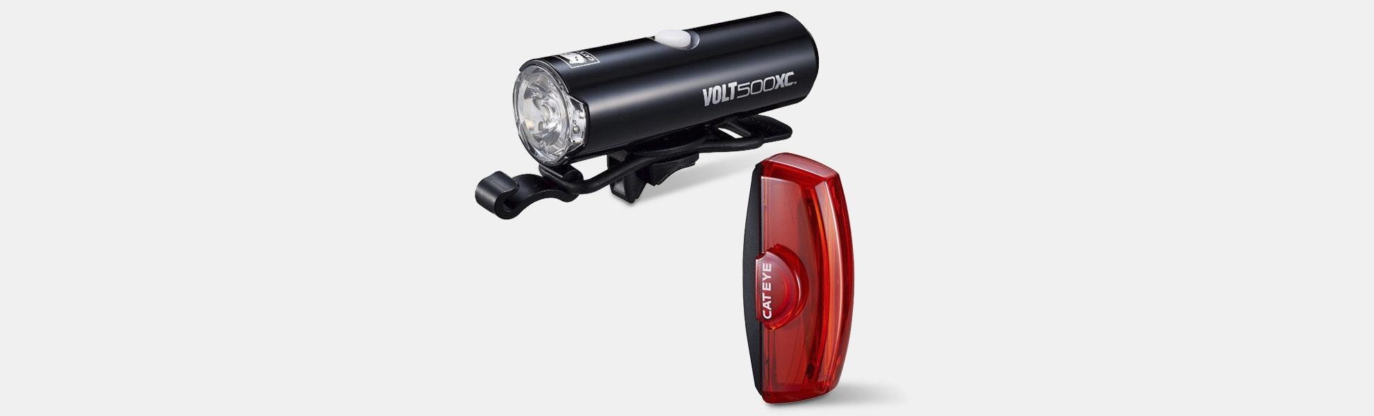 CatEye Volt500 XC & Rapid X2 Light Combo Kit