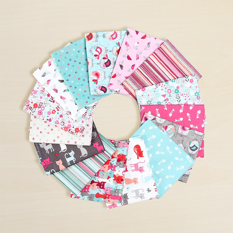 Cats Fat Quarter Bundle