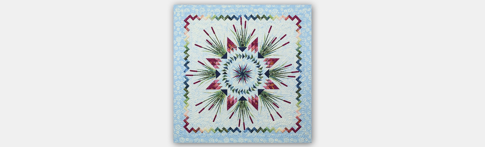 Cattails in the Meadow Quilt Pattern