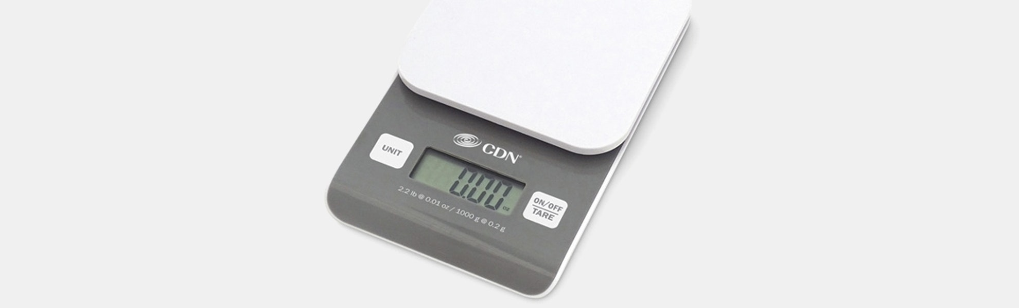 CDN Digital Precision Scale (2 lb/1,000 g)