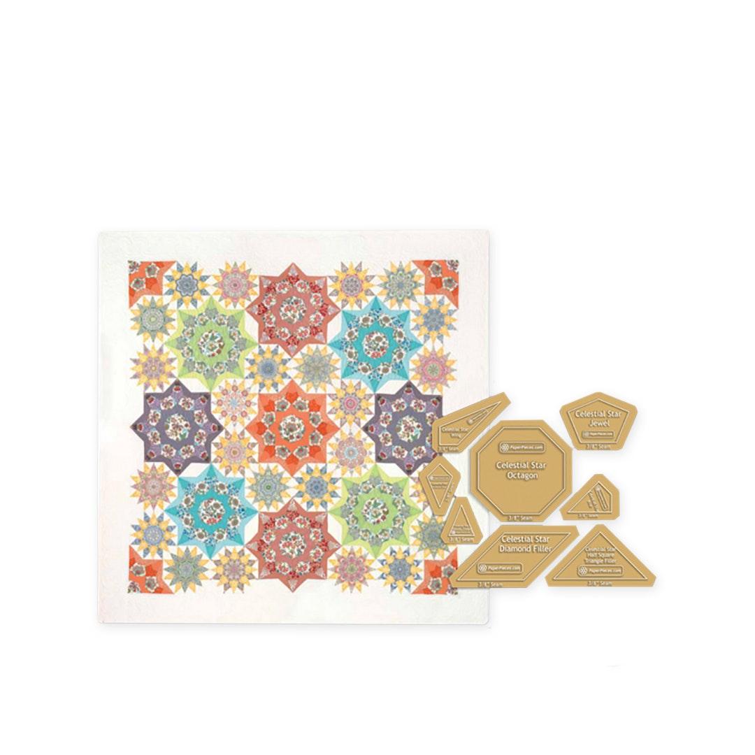 Celestial Star Paper Piece Bundle