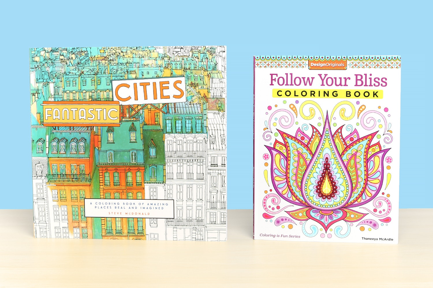 Chameleon Markers and Coloring Books Bundle