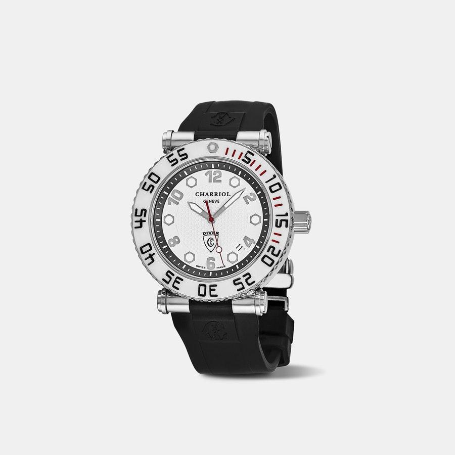 Charriol Rotonde Diver Quartz Watch
