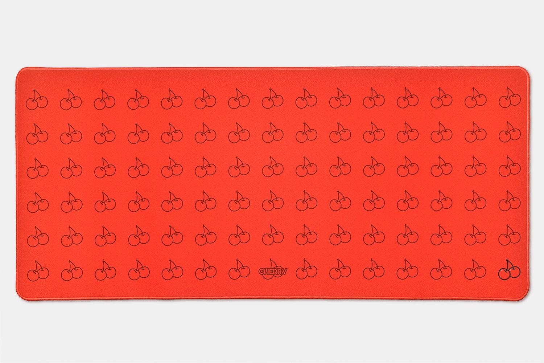 Chenyi Harvest Season Stitched Edge Desk Mat V2 - Cherry