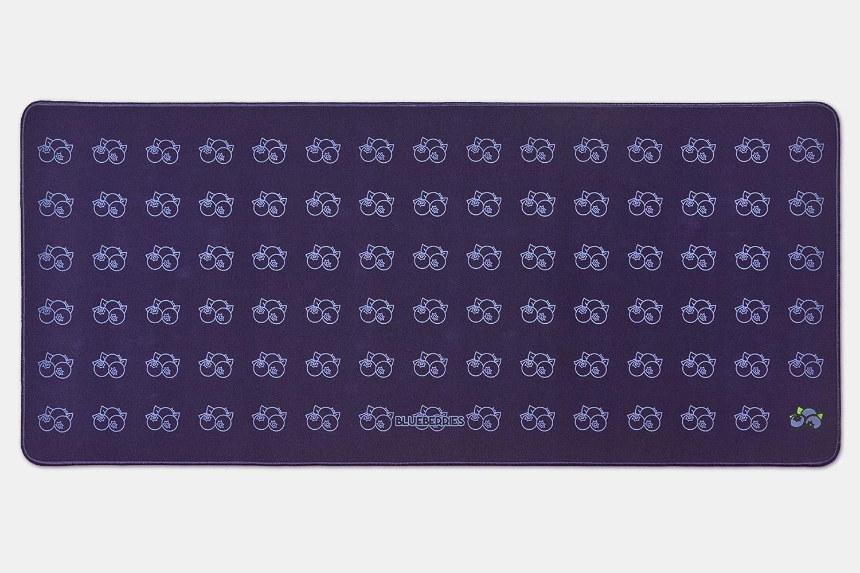 Chenyi Harvest Season Stitched Edge Desk Mat V2 - Blueberry